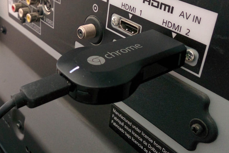chromecast to vga projector