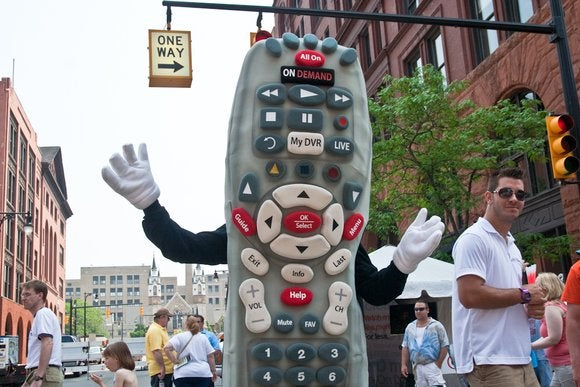 comcast remote mascot