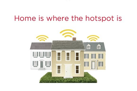 To Xfinity WiFi we're all hotspots, but you don't have to be