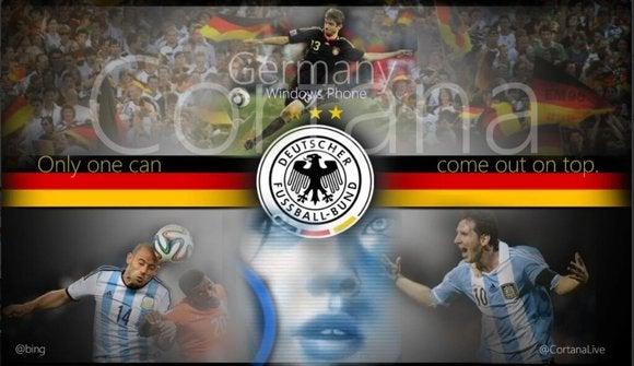 cortana world cup final