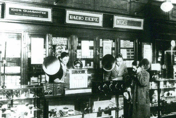 Radio Shack 1931 Boston