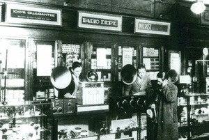 Radio Shack 1931 Boston