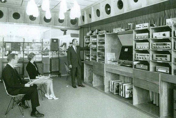 Radio Shack 1961 Stamford CT