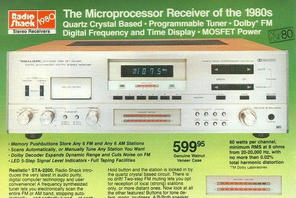 Radio Shack 1980 catalog