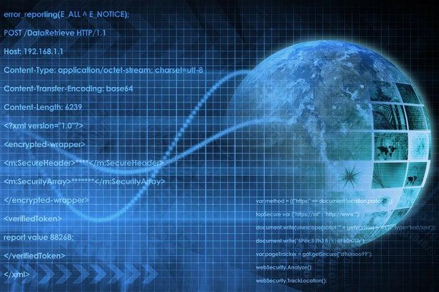 streaming data center info globe world