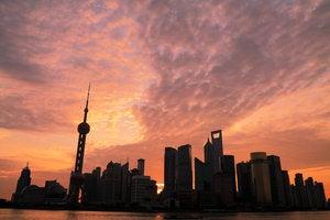 dawn in shanghai shutterstock