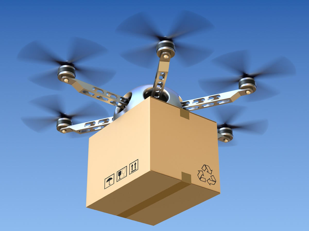 Cities Turn to Drones, Delivery Bikes to Make Last Mile Deliveries