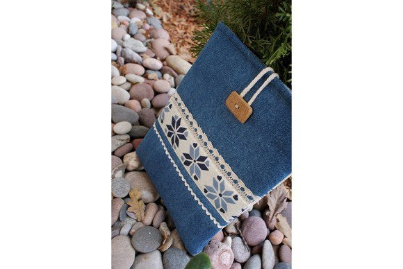 etsy denim ipad