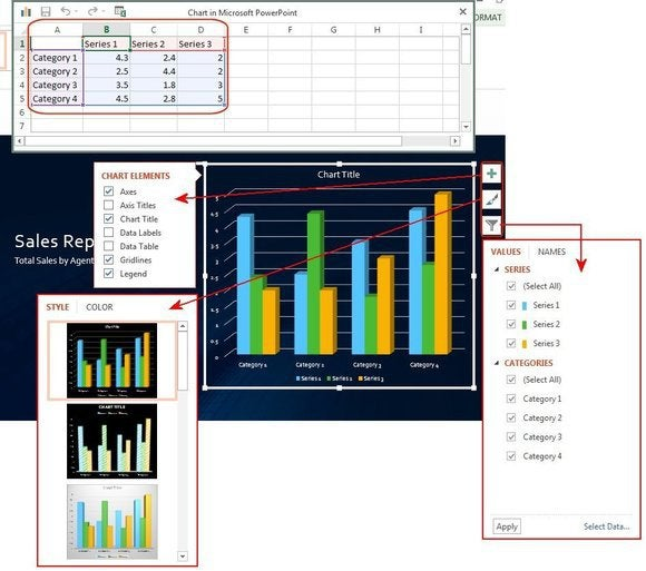 f11 modify chart