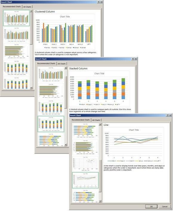 f5 insert chart screens