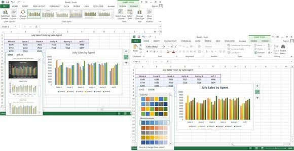 f7 change stylecolors of chart