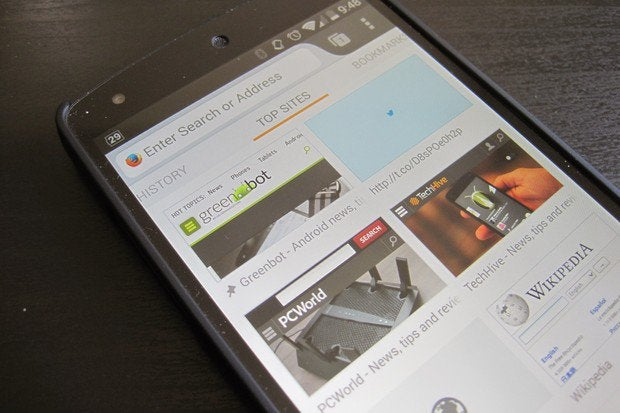 Firefox Beta for Android offers new home screen customization | Greenbot