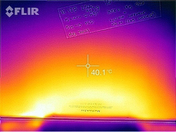 Flir One on MacBook Pro