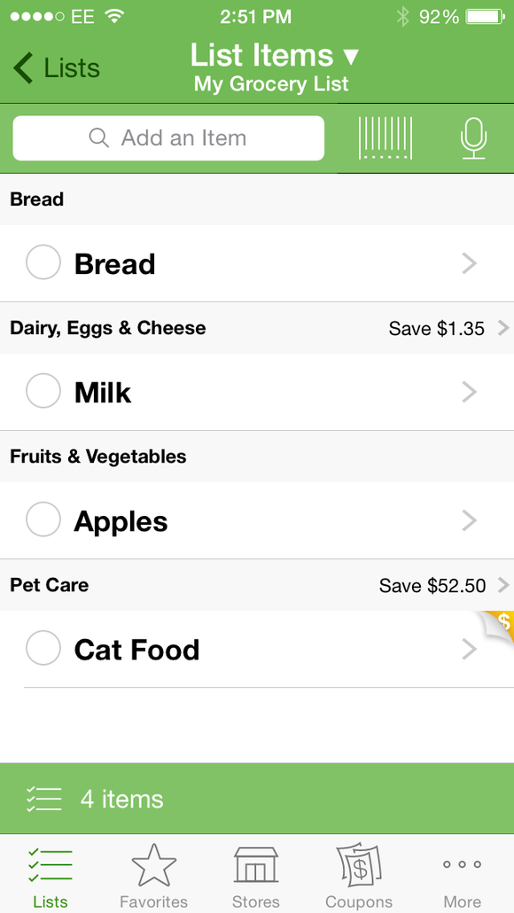 six grocery shopping apps to replace your paper list pcworld