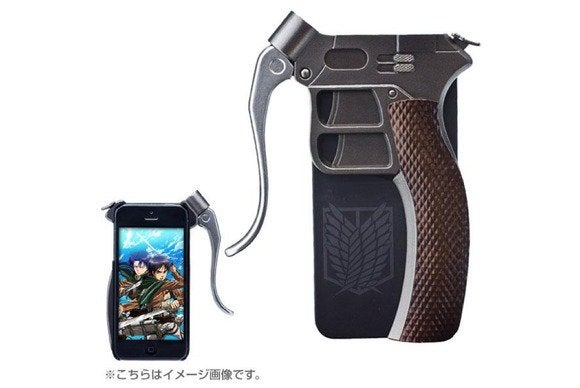 hamee attackontitan iphone