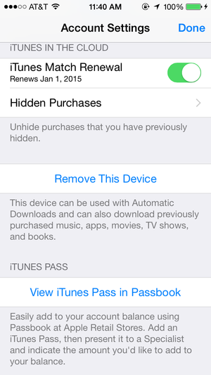 iphone itunes pass