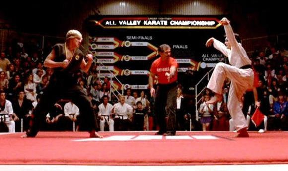 Karate Kid Ralph Macchio Crane Totally rad films from...