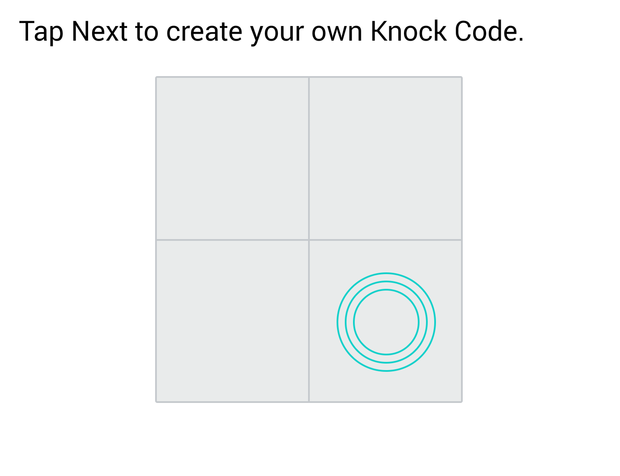 lg g3 knock code setup