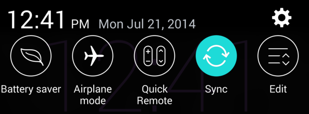 lg g3 quick settings