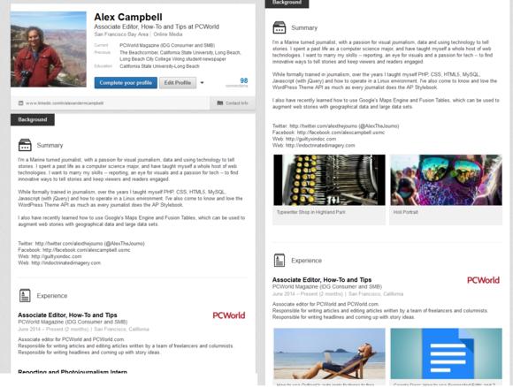 turn linkedin profile into resume resume sles