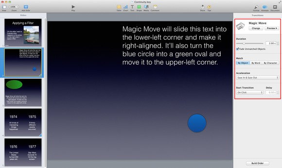 Keynote magic move