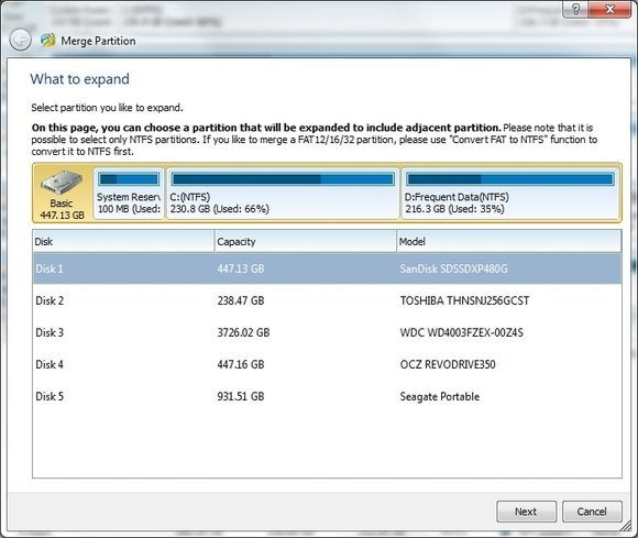 mini tool partition13