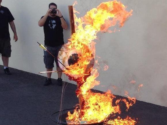 Neversoft Burning