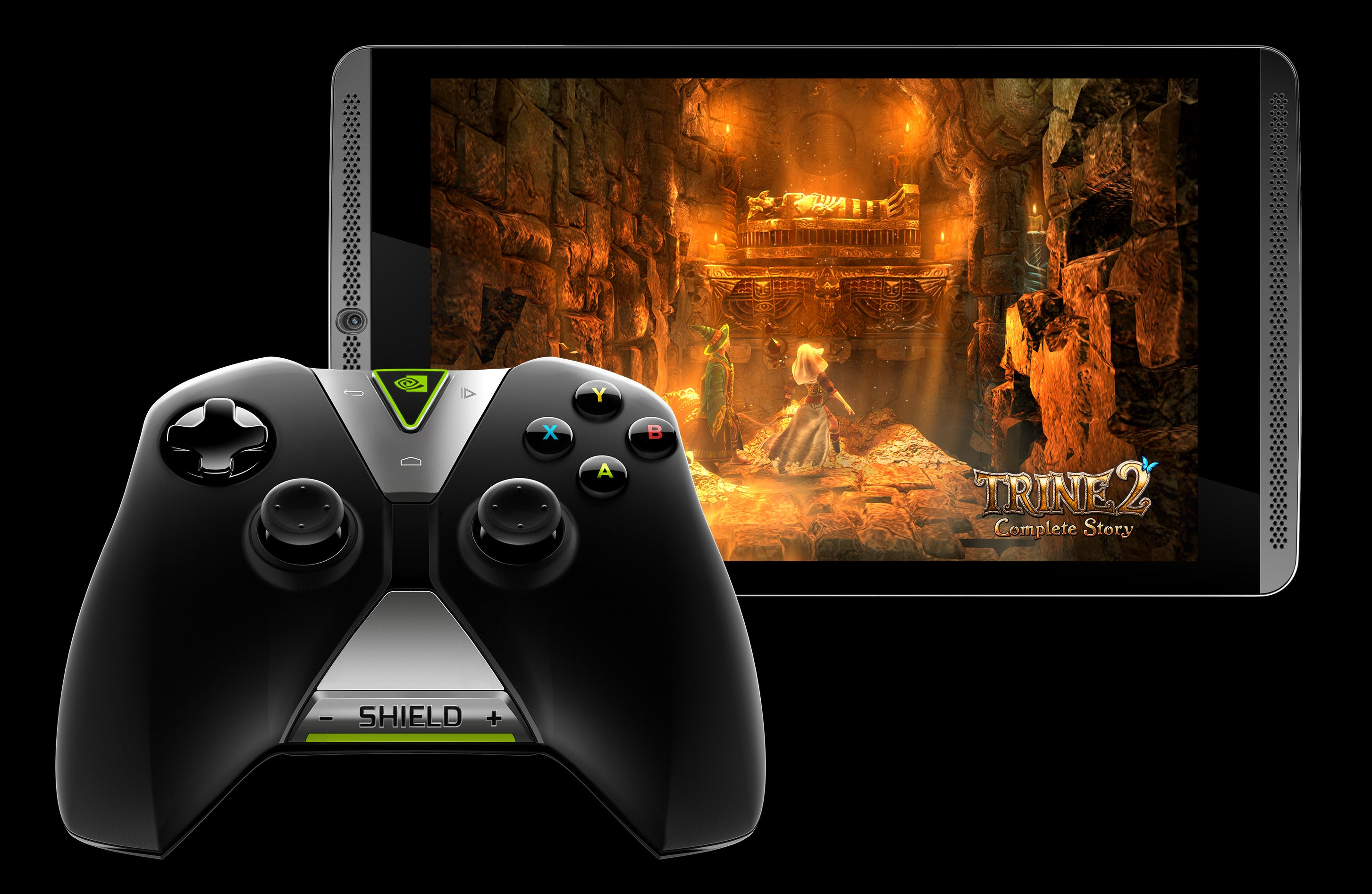 Hands On With Nvidias Shield Tablet A Slick Experience The Joystick It Gaming For Smartphone Pad Tab Small And Big Screen Pcworld
