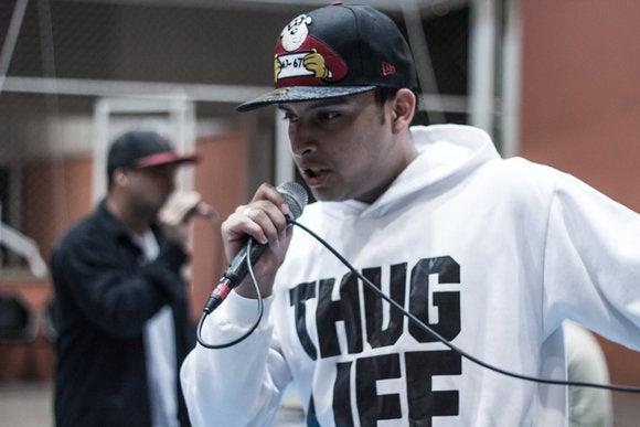 rap battle thug life