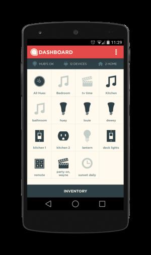 revolv android menu