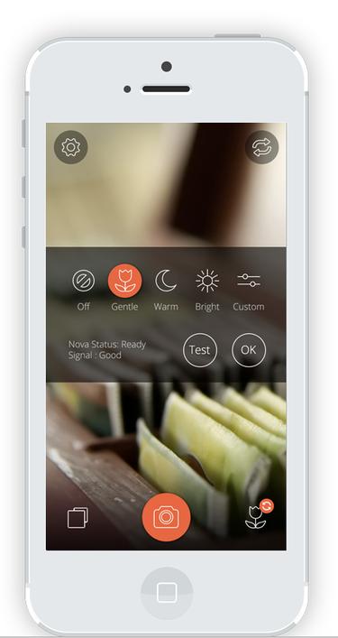 Nova BT flash iOS app