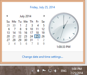 Monitor multiple time zones from your desktop with the