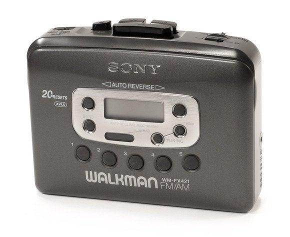 sony wm fx421 walkman