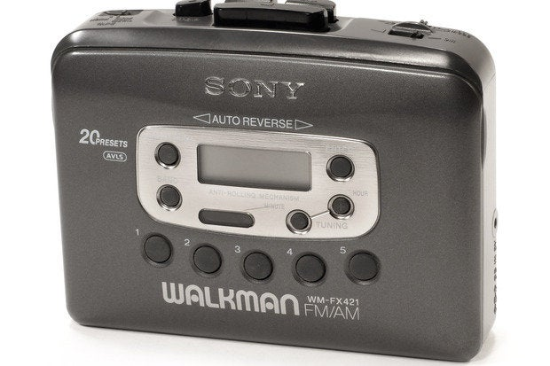 sony wm fx421 walkman