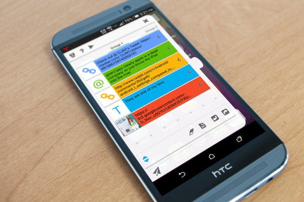 Copy and paste everything with StuffMerge, an Android super
