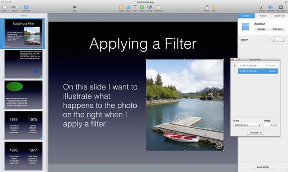 Keynote single-slide builds