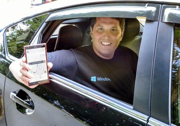 terry myerson uber windows phone