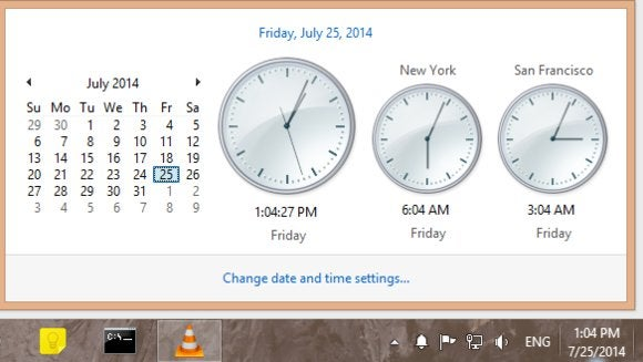 Monitor multiple time zones from your desktop with the Windows clock