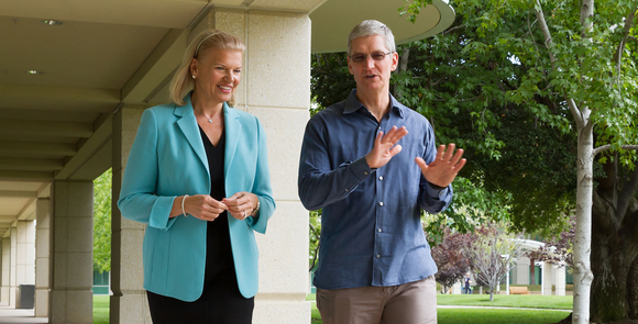tim cook apple ginni rometty ibm