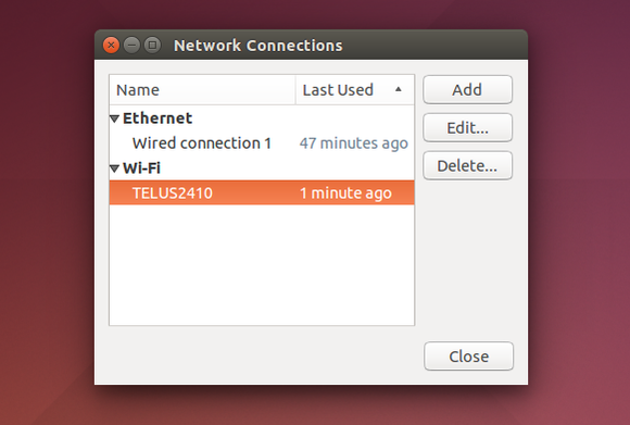 ubuntu networkmanager network connections