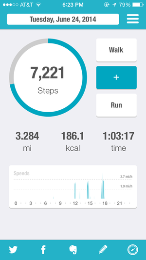 Walk this way: 6 pedometer apps for iPhone | TechHive