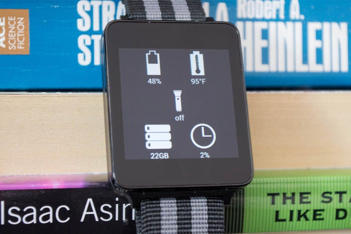 wearable widgets app