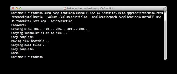 create bootable usb mac yosemite