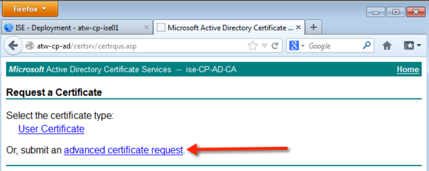 How to hack the certificate for a cisco identity services engine advanced request yadclub Image collections