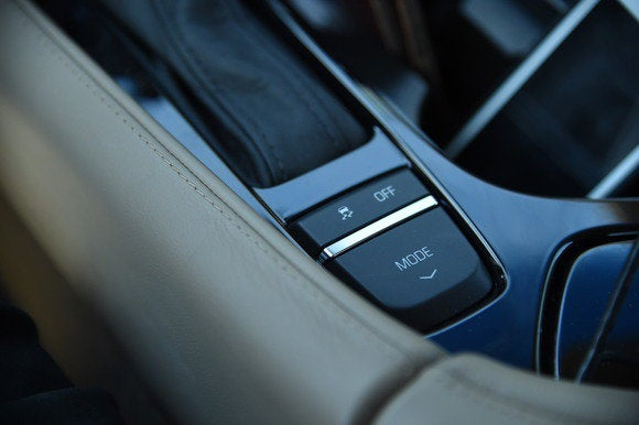 2014 cadillac elr mode button