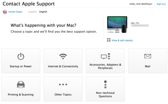 apple support profile 3