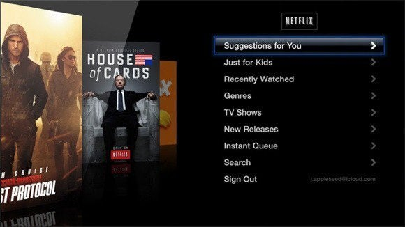 apple tv channel netflix