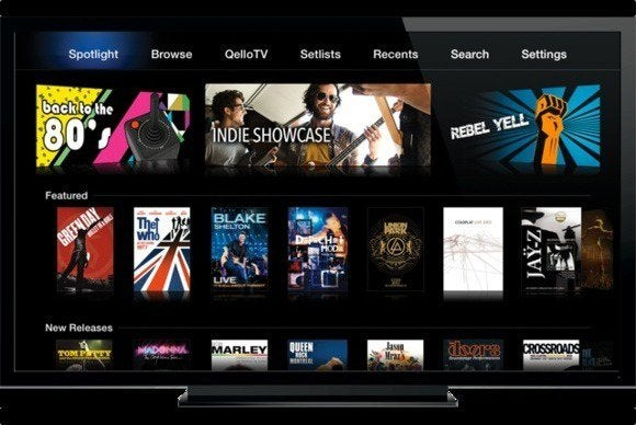 apple tv channel qello