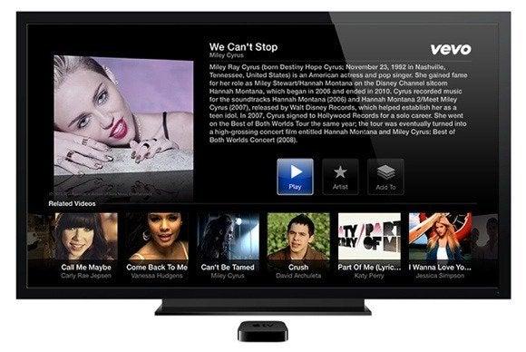 apple tv channel vevo