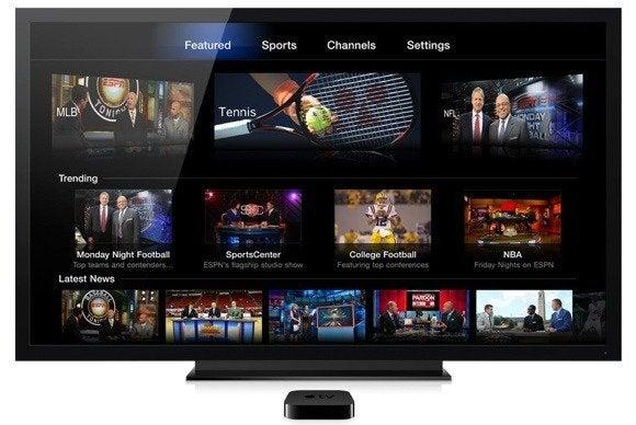 apple tv channel watch espn